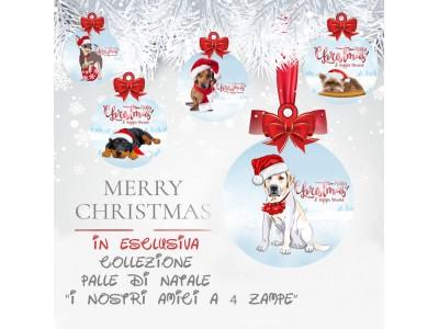 Set 3 palle di Natale -...