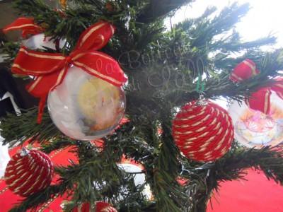 Palla di Natale con condorcino